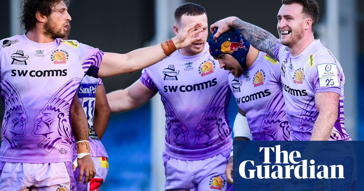 Sam Simmonds leads charge as Exeter swat Northampton aside
