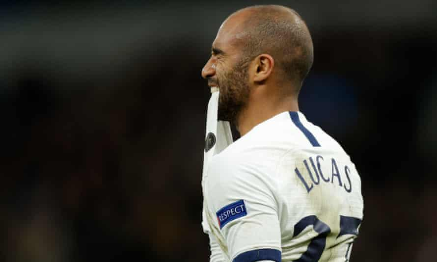 Lucas Moura missed Tottenham's best chance in the final minutes but Spurs were a little lucky to only lose by the single goal.