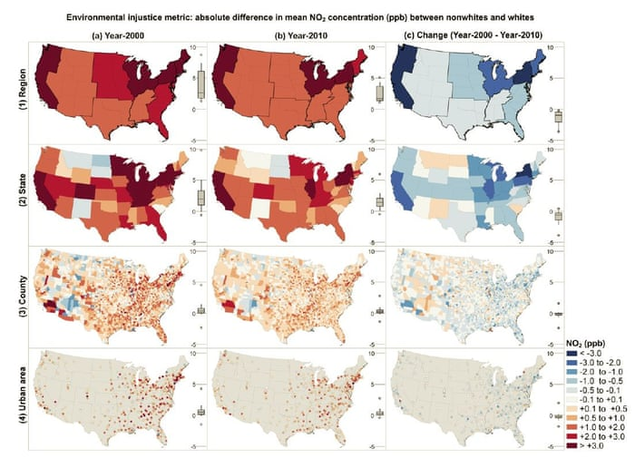 Air Pollution Black Hispanic And Poor >> Us People Of Color Still More Likely To Be Exposed To Pollution Than