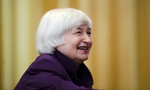 Janet Yellen meets with luncheon attendees before making a scheduled speech in Philadelphia.