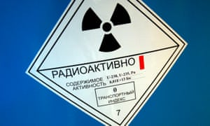 Russian radioactive label