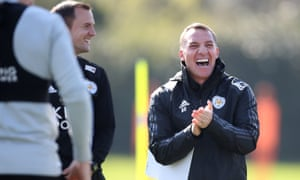The battle for seventh is heating up and Leicester are facing their bogey team, but Brendan Rodgers doesn't look worried.