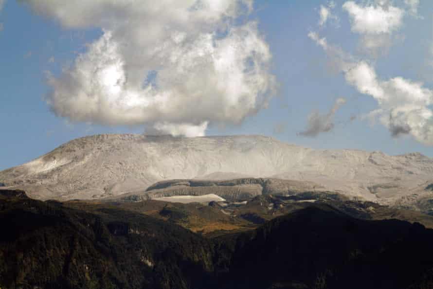 The Nevado del Ruiz volcano