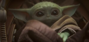 Bringing up Baby … The Mandalorian.
