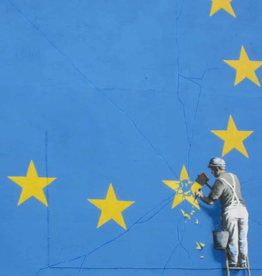 Banksy Brexit mural