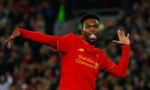 Daniel Sturridge has missed the past five games for Liverpool with a calf injury but could feature against Everton at Goodison Park on Monday.