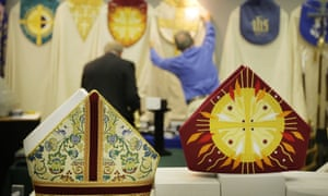 Bishops' mitres for sale in Canterbury