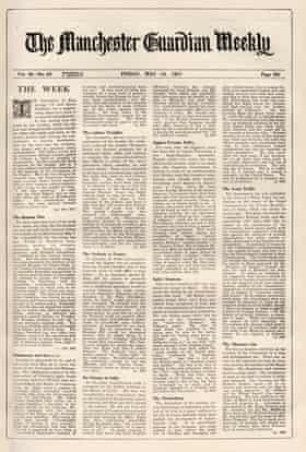 The Guardian Weekly, Friday, 14 May 1937