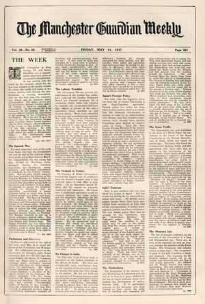 The Guardian Weekly, Friday, 14 May 1937