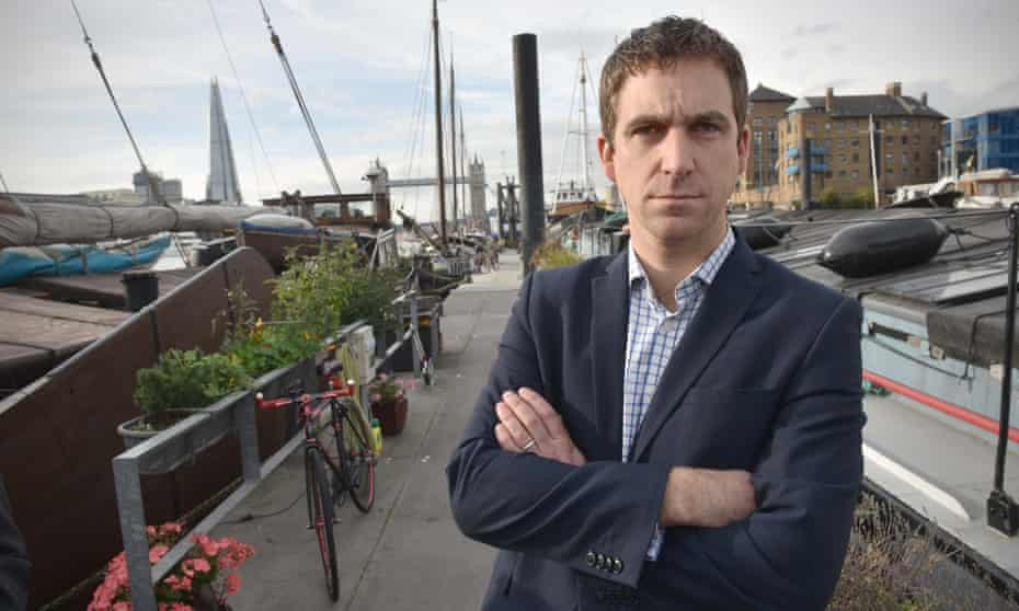 'Brendan Cox has not just been treading water but striking out through it brilliantly' … Cox last year.