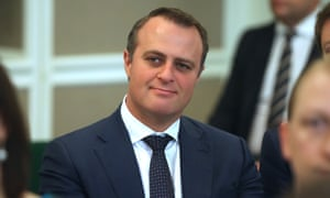 Liberal candidate Peter Killin has resigned after anti-gay comments about MP Tim Wilson, pictured.