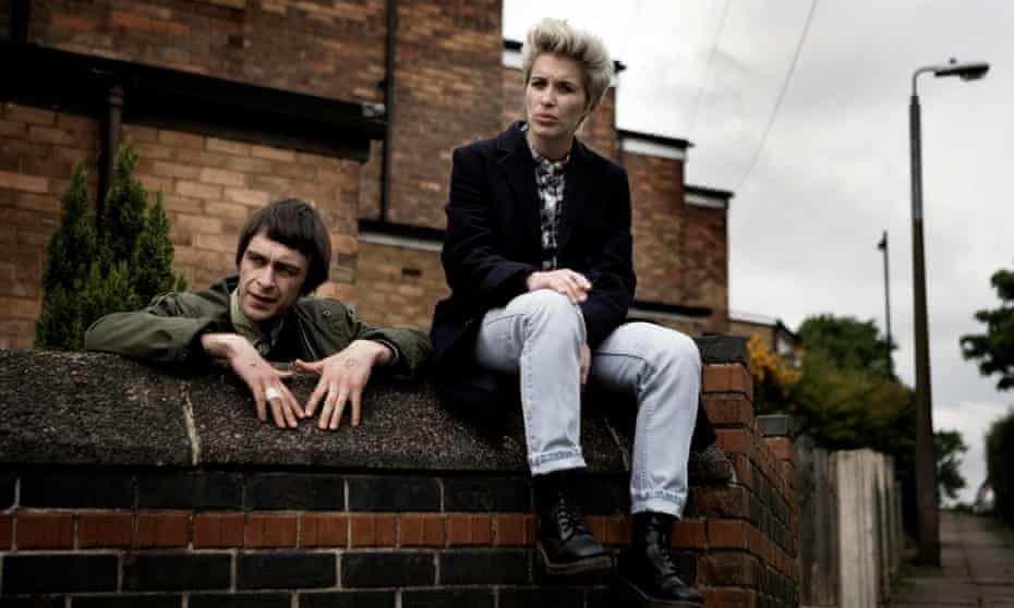 Joe Gilgun as Woody and Vicky McClure as Lol in This Is England 86.