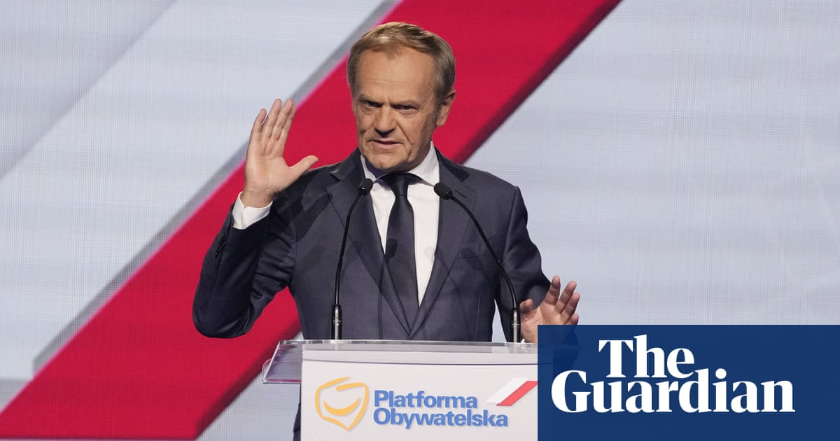 Ex-EU head Donald Tusk elected leader of Polish opposition party