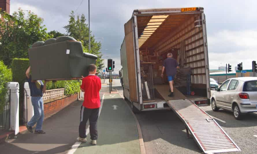 One removals firm said demand for its services was up by 200% in June
