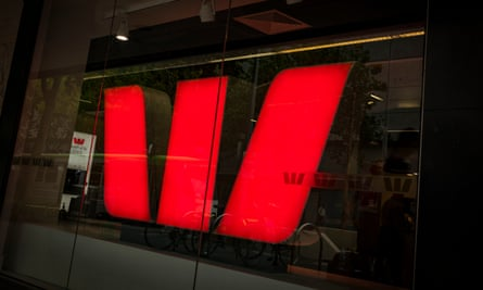 Stock image of a Westpac branch