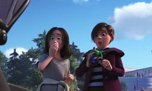 """The """"lesbian couple"""" from Finding Dory."""