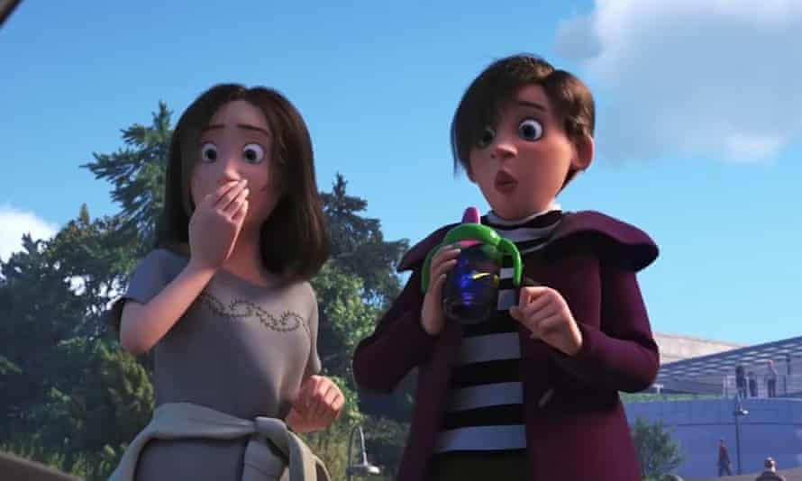 'They can be whatever you want them to be' ... co-director Andrew Stanton on the 'lesbian' couple in Finding Dory.