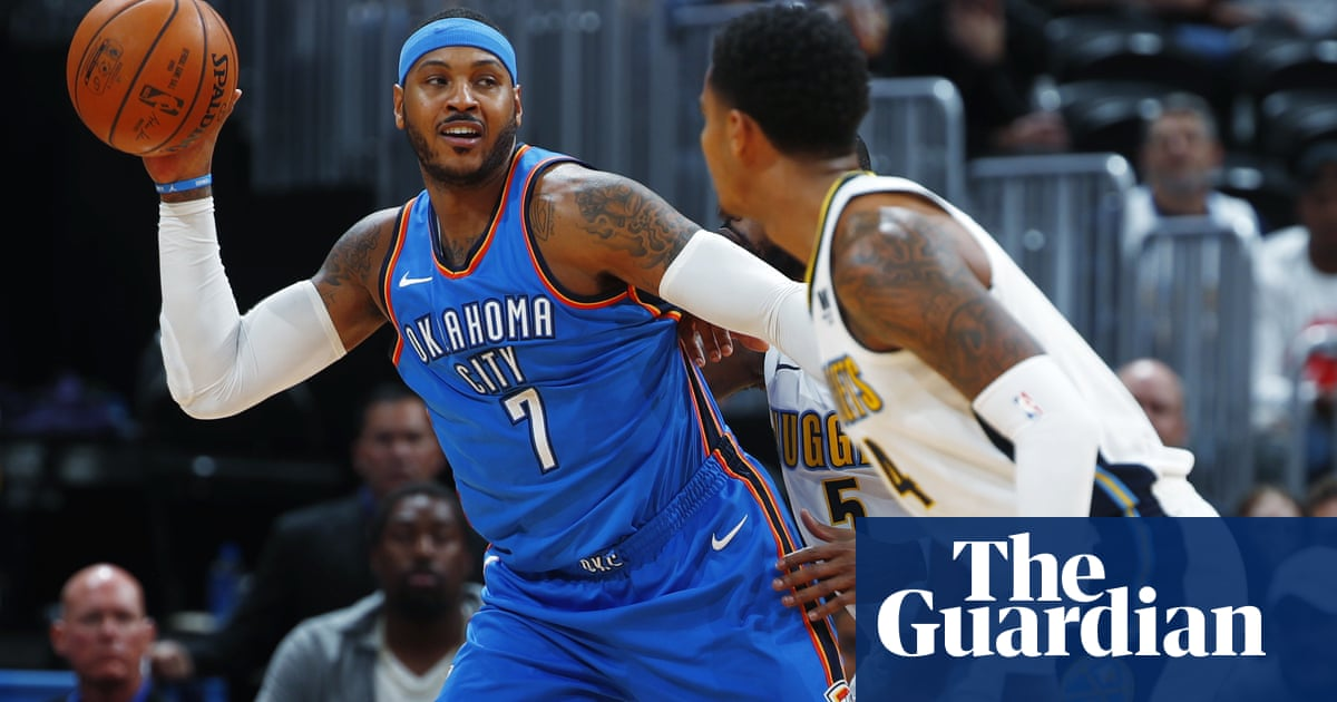 01d2d7902fe9 Rockets prepare for tough Western Conference with signing of Carmelo Anthony