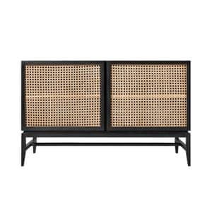 Raphia mango wood and rattan sideboard, £599, swooneditions.com