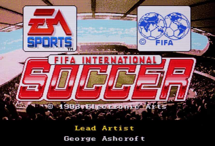Love at first byte … the original Fifa International Soccer, 1993.
