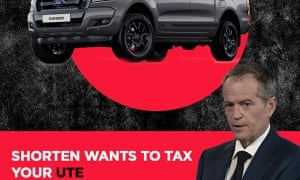 Facebook ads posted by the Liberal party falsely claim Bill Shorten wants to tax popular car brands