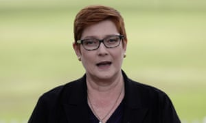 Foreign minister Marise Payne