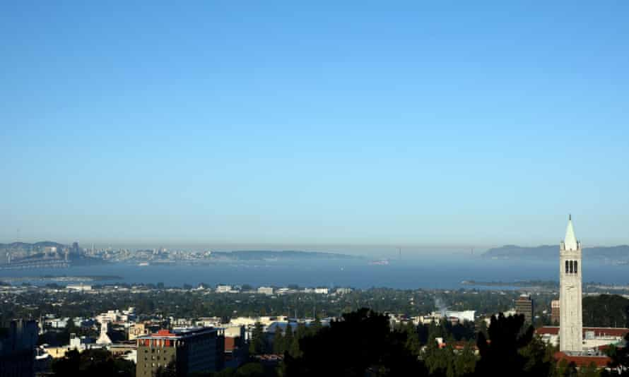 The view of the Bay from the Berkeley Hills.