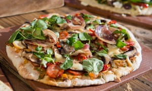 Supermarkets are exploiting the trend for wood-fired or stone-baked gourmet pizza.