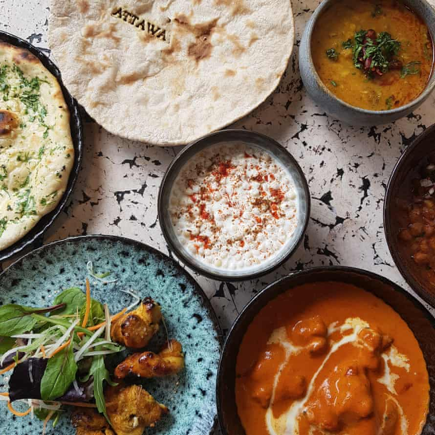 Attawa restaurant, Dalston, London