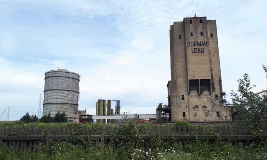 There are plans to preserve the Dorman Long steelworks tower.