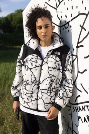 Coming to the rescueThe North Face has teamed up with New York based, British born multimedia artist Shantell Martin (pictured). Her designs include a Sherpa fleece and wind jacket, all featuring an original artwork and take inspiration from the brand's archive search and rescue line originally designed for mountain rescue teams. Fleece, £155, thenorthface.co.uk