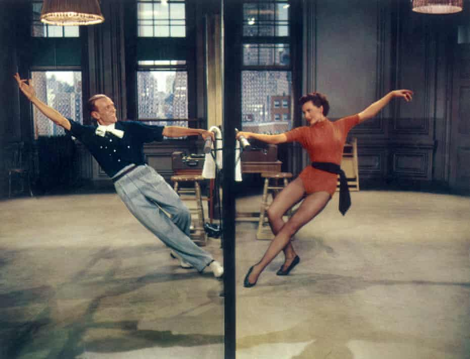 Fred Astaire and Cyd Charisse in The Band Wagon.