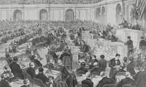 In the 1876 presidential election, the electoral counts from three states were in dispute, creating a stalemate that took weeks to resolve.