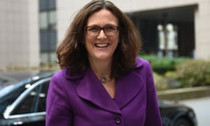 Straight-talking Cecilia Malmström will be 'very clear about what's required' when it comes to Britain negotiating a trade deal.