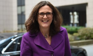 European commissioner Cecilia Malmstrom has proposed an international court of arbitration to settle investor disputes.