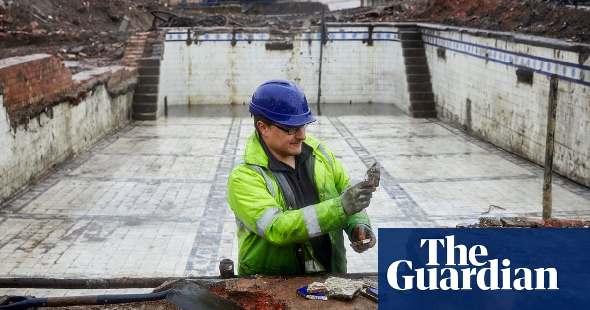 Victorian bathhouse uncovered beneath Manchester car park