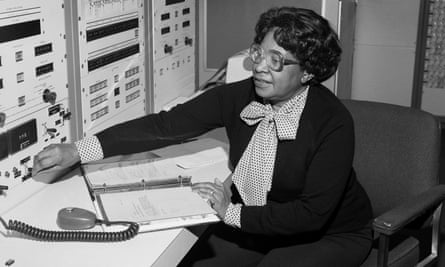 Mary Jackson at NASA Langley Research Centre in 1980.