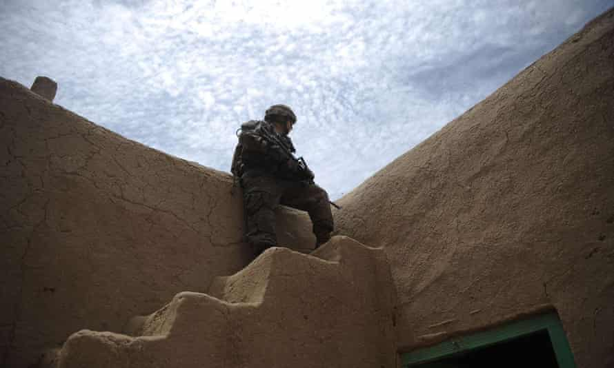 A US solider in Kandahar province. More than 2,300 have been killed, and 20,000 wounded in Afghanistan.
