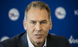 Bryan Colangelo has been with the Sixers since 2016