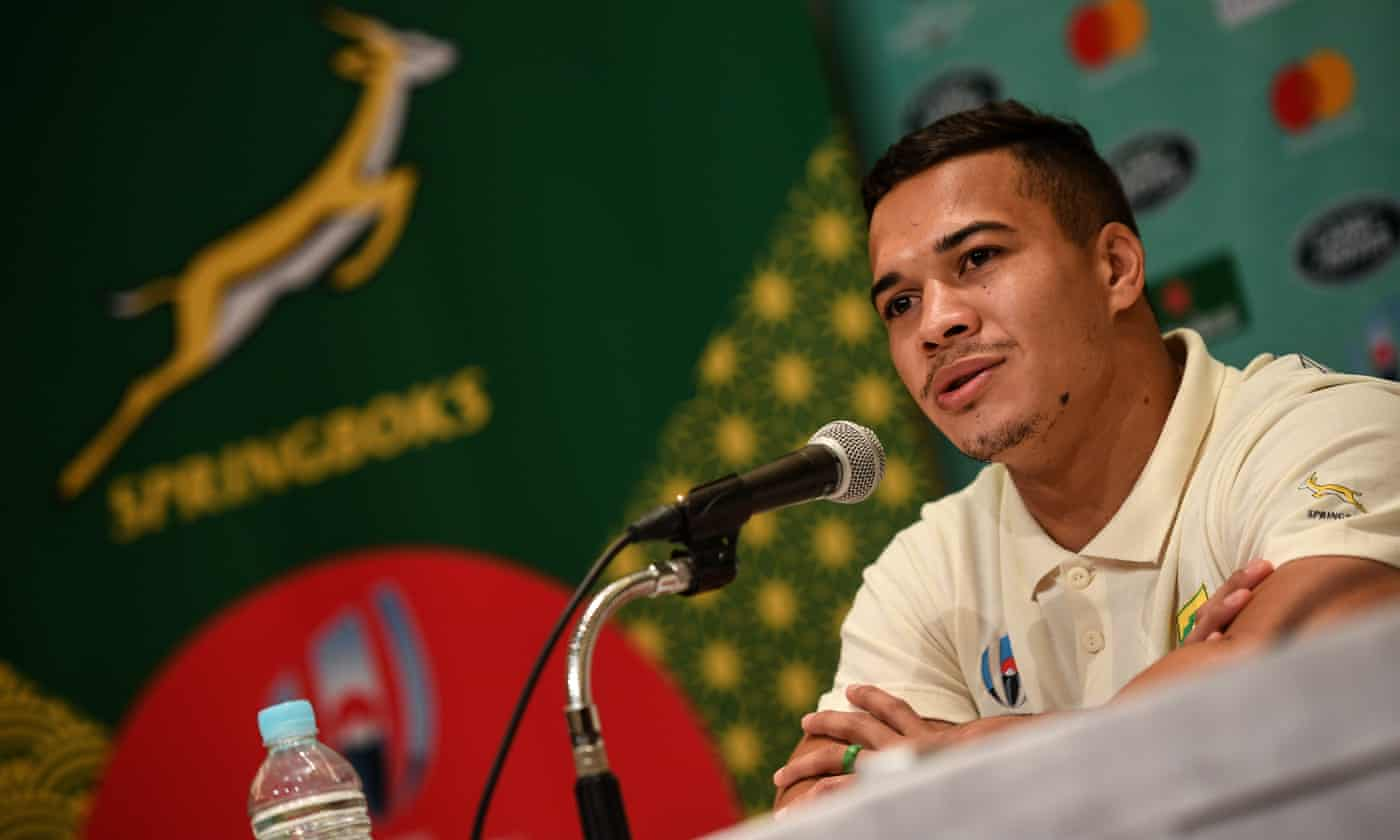 Fit-again Cheslin Kolbe ready to test Japan with searing pace