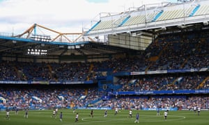 Stamford Bridge for Chelsea Women v Tottenham Women