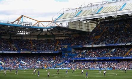 Stamford Bridge for Chelsea Women v Tottenham Women