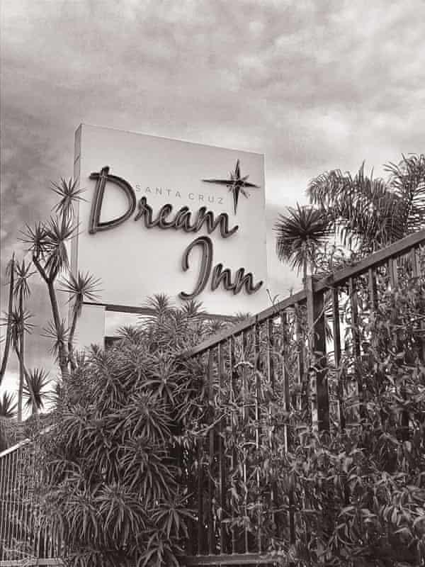 Polaroid memories … Dream Inn in Santa Cruz.