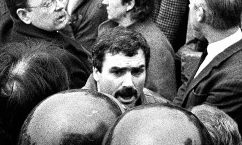 IRA commander and informer Freddie 'Stakeknife' Scappaticci, described by a British officer as 'our best agent … the golden egg'.