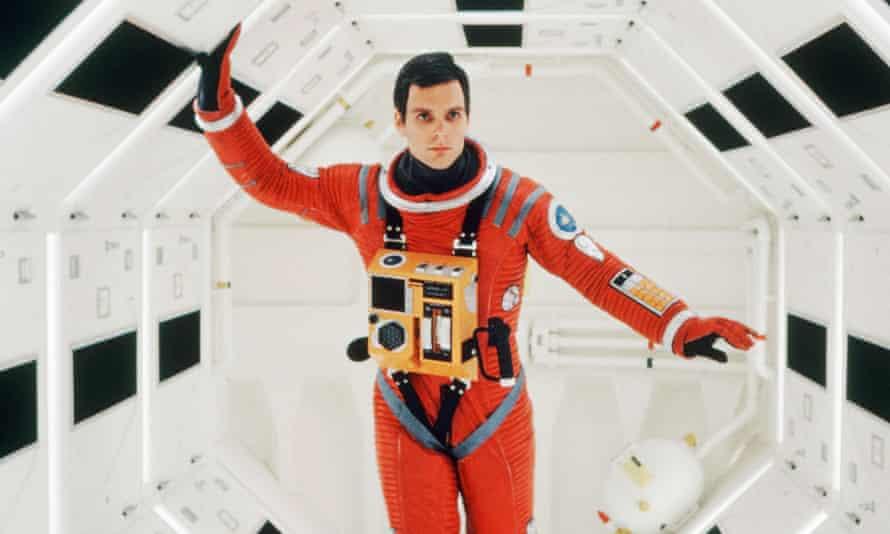 Keir Dullea in the 1968 sci-fi classic 2001: A Space Odyssey.