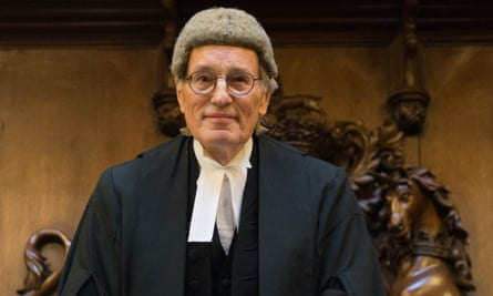 Mr Justice Bodey at his valediction at the Royal Courts of Justice in London