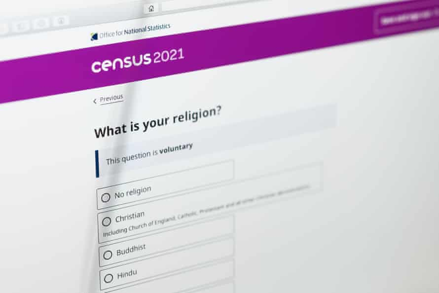 The census has included a voluntary question about religion since 2021