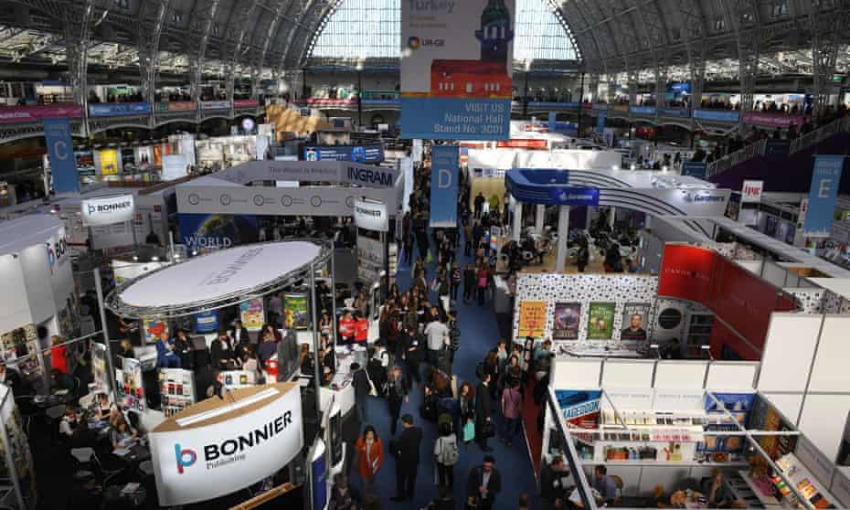A view of the London Book Fair on 15 March.