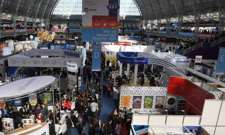 'More needs to be done' … visitors to the London Book Fair.