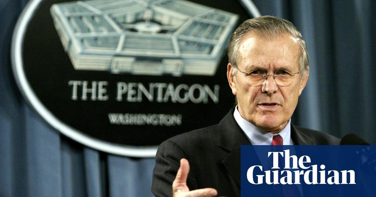 Donald Rumsfeld, former US defense secretary, dies aged 88
